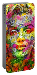 Marilyn Flower Portable Battery Charger