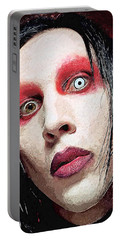 Marilyn Manson Portable Battery Charger
