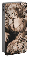 Marilyn Monroe 126 A 'sepia' Portable Battery Charger