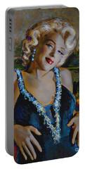 Marilyn Monroe 126 Monalisa Portable Battery Charger