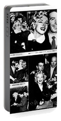 Marilyn Monroe And Joe Dimaggio 1950s Photos By Unknown Japanese Photographer Portable Battery Charger