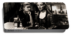 Portable Battery Charger featuring the photograph Marilyn Monroe Blond Sex Goddess by R Muirhead Art