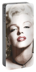 Marilyn Monroe - Colored Verticals Portable Battery Charger