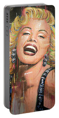 Marilyn Monroe Film Movie Actress Art Painting Portable Battery Charger