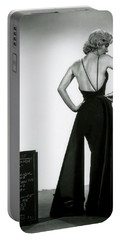 Portable Battery Charger featuring the photograph Marilyn Monroe In Gentlemen Prefer Blondes by R Muirhead Art