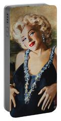 Marilyn Monroe  Mona Lisa  Portable Battery Charger