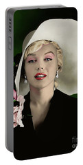 Marilyn Monroe Portable Battery Charger by Paul Tagliamonte
