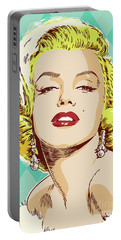 Marilyn Monroe Pop Art Portable Battery Charger