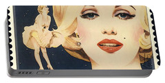 Marilyn Monroe Stamp Portable Battery Charger