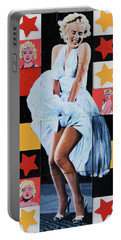 Marilyn Monroe The Star Portable Battery Charger