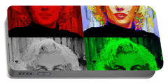 Marilyn Monroe - Quad. Pop Art Portable Battery Charger
