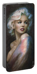 Marilyn Romantic Ww 4 Blue Portable Battery Charger