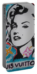 Marilyn Vuitton Portable Battery Charger