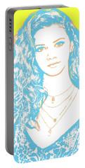 Marina Nery Pop Art Portable Battery Charger
