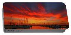 Marina Sunrise - Ft. Pierce Portable Battery Charger