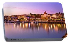 Portable Battery Charger featuring the photograph Marina Sunset, Mindarie by Dave Catley