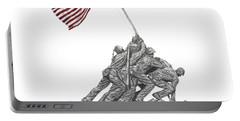 Marine Corps War Memorial - Iwo Jima Portable Battery Charger