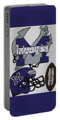 Marinette Marines. Portable Battery Charger