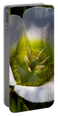 Mariposa Lily Portable Battery Charger by Alana Thrower