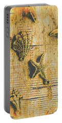 Maritime Sea Scroll Portable Battery Charger