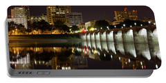 Market Street Bridge Reflections Portable Battery Charger
