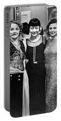 Marlene Dietrich Anna May Wong Leni Riefenstahl Berlin 1930 Portable Battery Charger