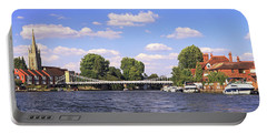 Portable Battery Charger featuring the photograph Marlow Bridge by Tony Murtagh