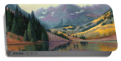 Maroon Bells In October Portable Battery Charger