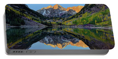 Maroon Bells Sunrise Portable Battery Charger