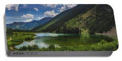 Maroon Lake Panorama Portable Battery Charger