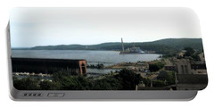 Marquette Michigan Portable Battery Charger by Michelle Calkins