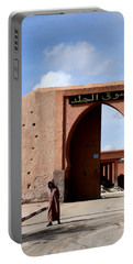Portable Battery Charger featuring the photograph Marrakech 1 by Andrew Fare