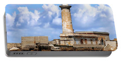 Marsala Lighthouse Portable Battery Charger by Anthony Dezenzio