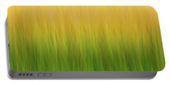 Marsh Grass Portable Battery Charger