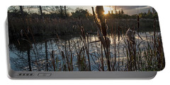 Marsh-pond-rawlinsonpark Portable Battery Charger