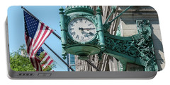 Marshall Field's Clock Portable Battery Charger