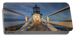 Marshall Point Lighthouse At Sunrise Portable Battery Charger