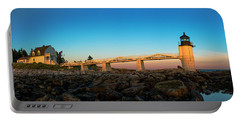 Marshall Point Lighthouse Portable Battery Charger by Diane Diederich