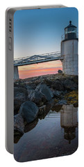 Marshall Point Reflection At Sunrise Portable Battery Charger