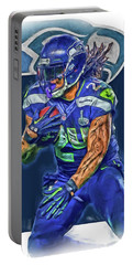 marshawn lynch SEATTLE SEAHAWKS OIL ART Portable Battery Charger