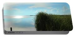 Marshland Portable Battery Charger by David Stasiak