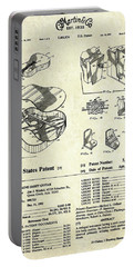 Martin Guitar Patent Art Portable Battery Charger by Gary Bodnar