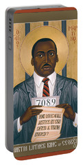 Martin Luther King Of Georgia  - Rlmlk Portable Battery Charger