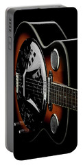Martinez Guitar 01 Portable Battery Charger by Kevin Chippindall