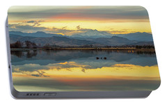 Portable Battery Charger featuring the photograph Marvelous Mccall Lake Reflections by James BO Insogna