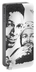 Marvin Gaye Tribute Portable Battery Charger
