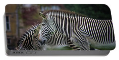 Marwell Zoo Zebras Portable Battery Charger