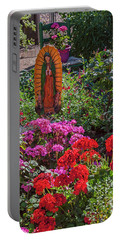 Mary Among The Roses Portable Battery Charger