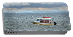 Maryland Crab Boat Fishing On The Chesapeake Bay Portable Battery Charger