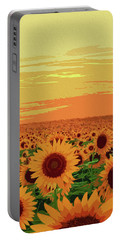 Maryland Sunflowers Portable Battery Charger